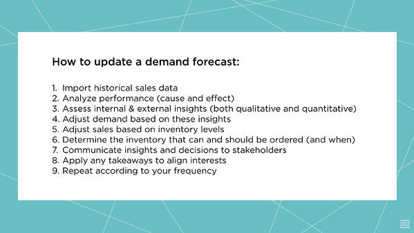 how to update a demand forecast.001